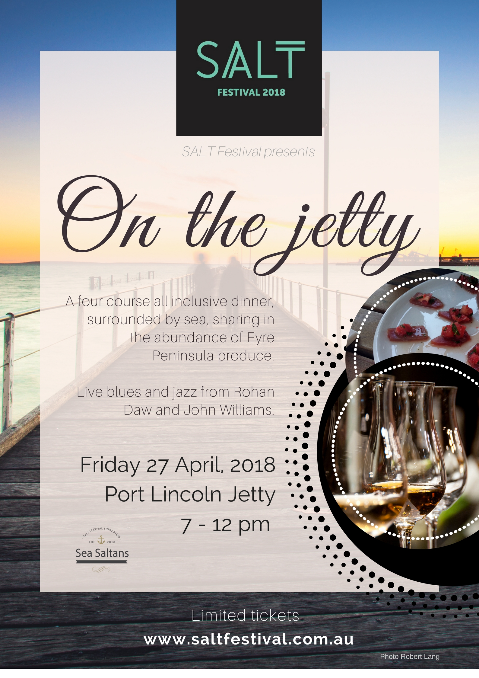 SALT PRESENTS 'ON THE JETTY'