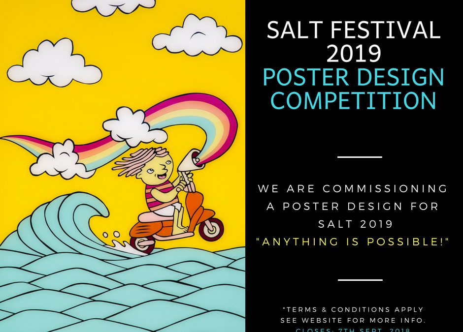 SALT Festival 2019 Poster Design Competition – $500 Commission Prize